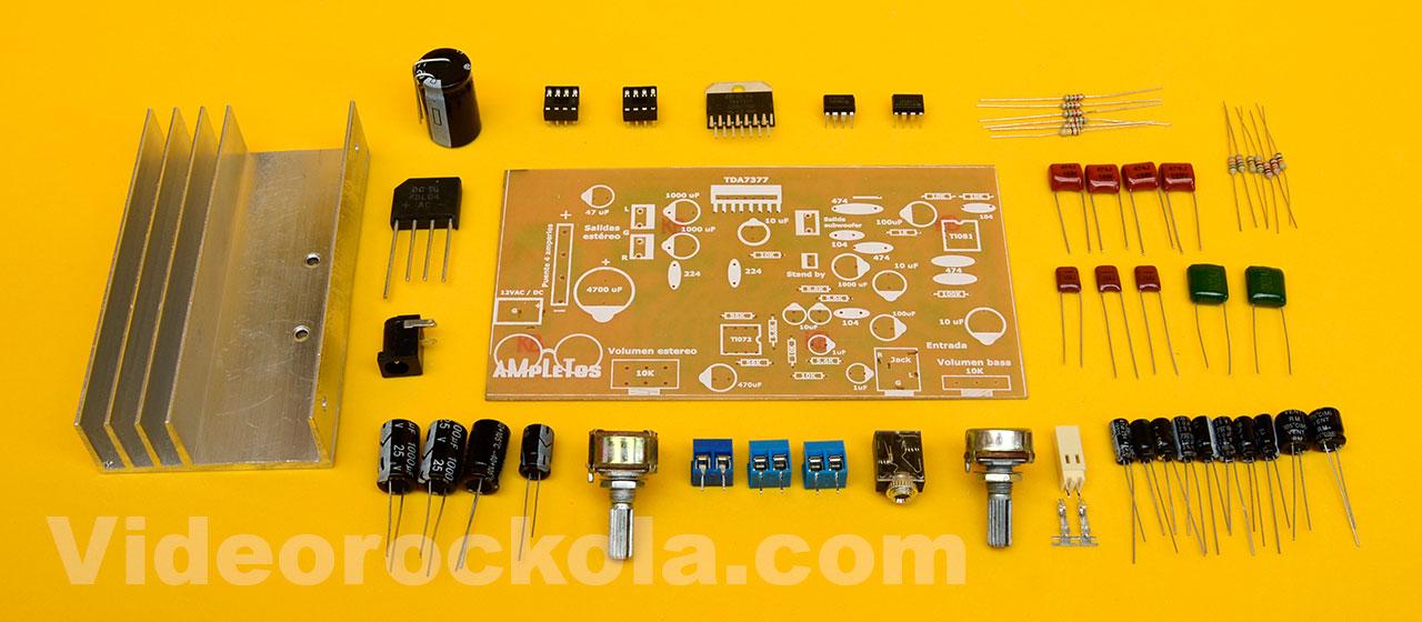 Materials amplifier