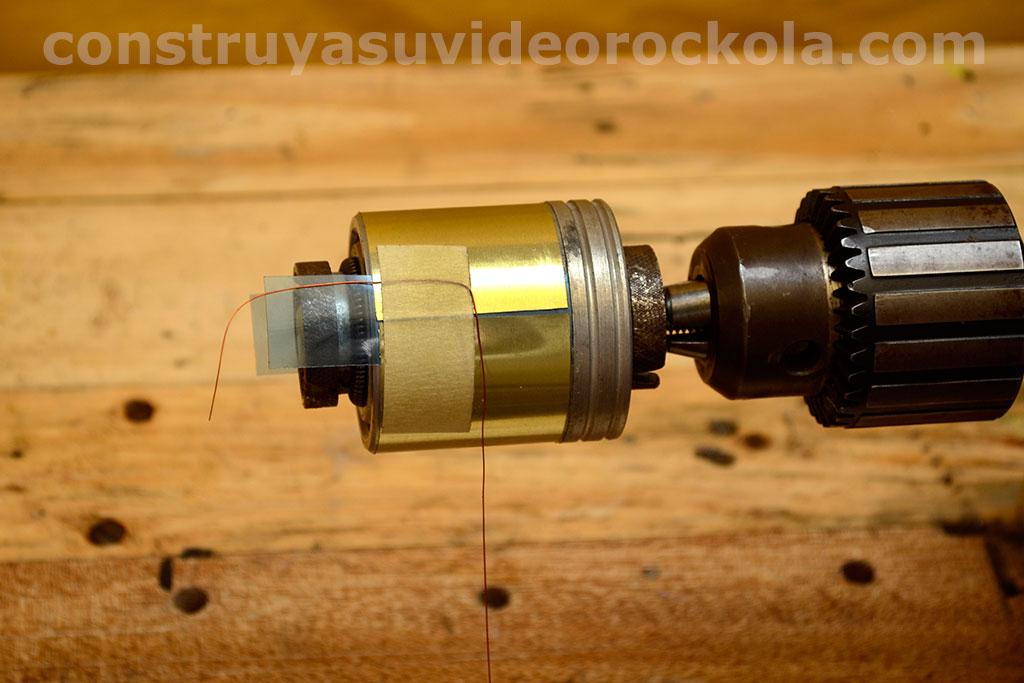 alambre de cobre listo