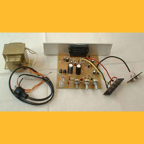 Ensamble de un Amplificador de 100W con STK4172-II