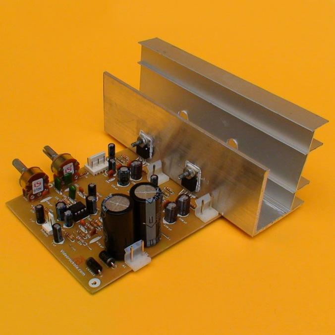 Amplificador de 60W con Control de Tonos y Volumen