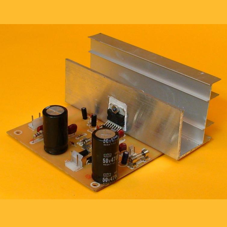 Construya un Amplificador de 90 Watts