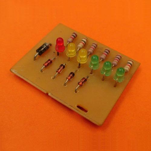 Construya un Vumetro Pasivo con LEDs