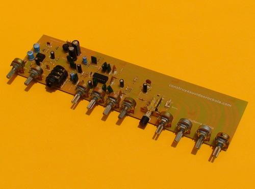 Preamplificador para Guitarra Eléctrica con Distorsionador