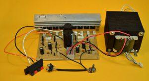 transformador del amplificador