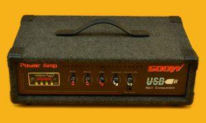amplificador encajado
