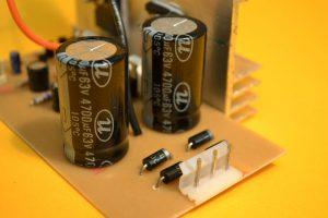 la fuente del amplificador