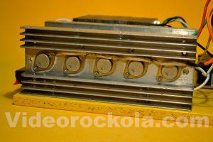 transistores en disipador