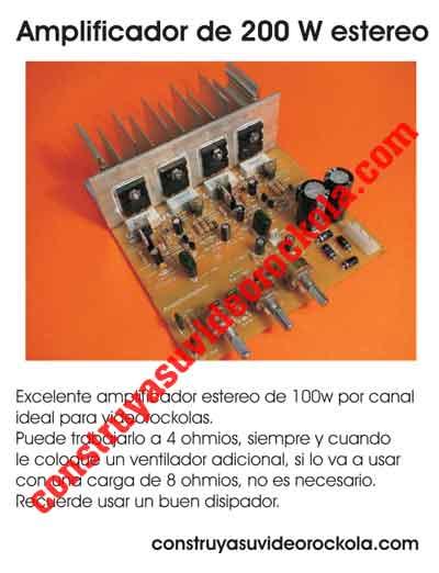 PDF amplificador 200w