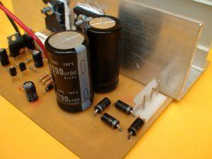 fuente del amplificador