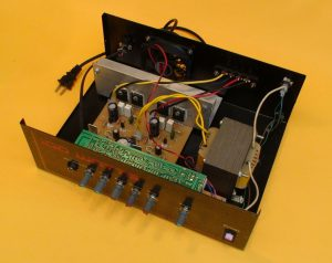 amplificador en caja