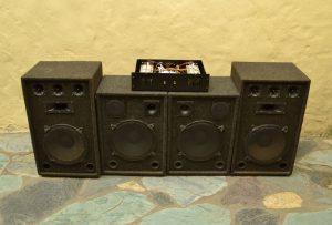 sistema de sonido 1000w