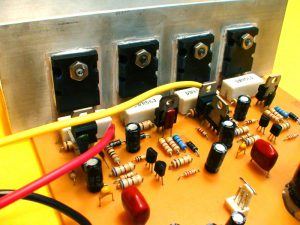 output transistors