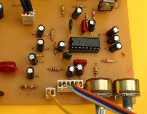 control de tonos y volumen
