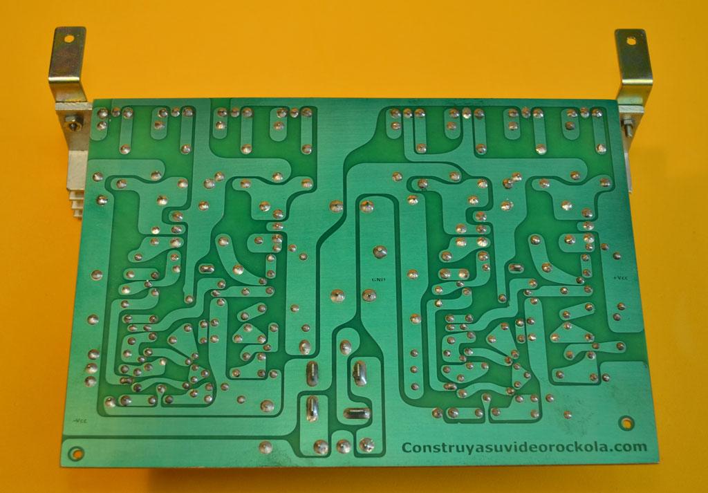 Circuito Impreso De Amplificador De 3000w : Amplificador estereo de watts cuasicomplementario
