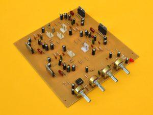 circuito impreso del amplificador