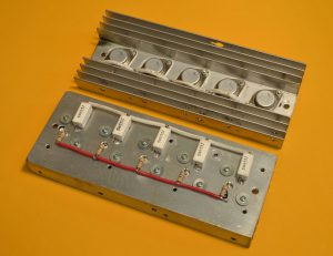 transistores montados