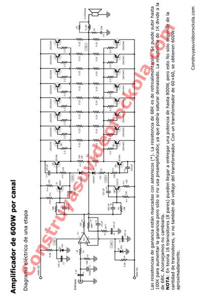 Descargar Archivo PDF del Amplificador Estereo Hibrido de 1200W ...