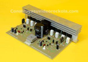 400 watts stereo amplifier