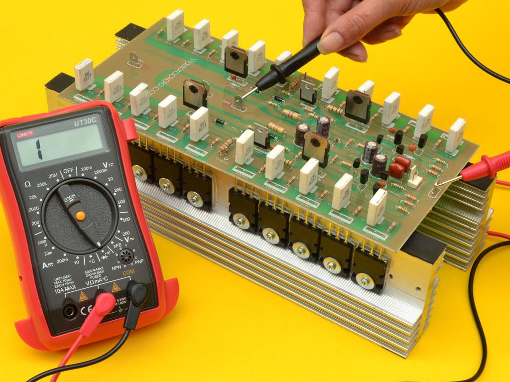 mediciones amplificador