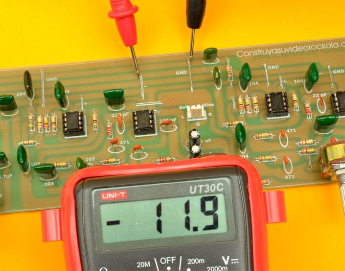 medición tensión