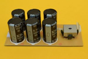 fuente de 6 condensadores