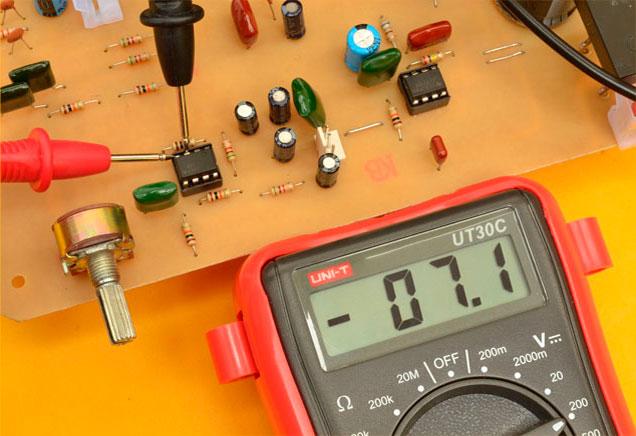 medición tl072