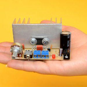 Amplificador super compacto con TDA8560