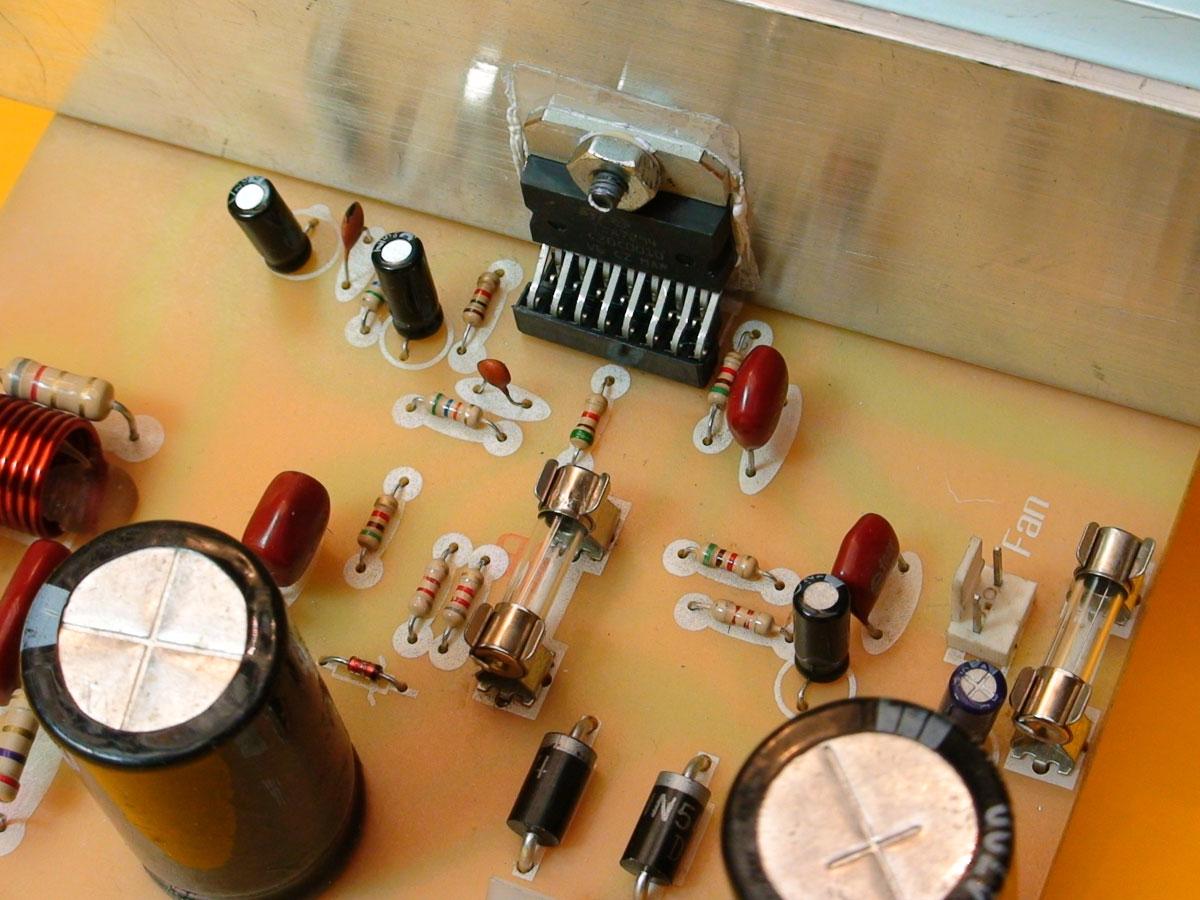 Construya Un Amplificador De 90 Watts 60 Audio Amplifier Circuit Using Tda7296 Class Ab Circuito Integrado Tda7294