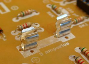 portafusible de PCB