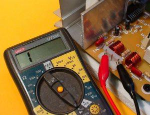 speaker output measurement