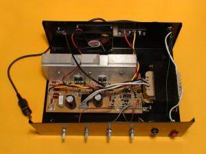 amplificador vista superior