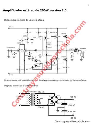 Circuito Impreso De Amplificador De 3000w : Descargar amplificador estéreo de watts versión