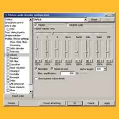 FFDShow programa que nivela las canciones de la videorockola