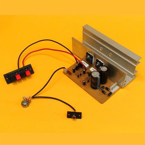 Ensamble un Amplificador Monofónico de 100 Watts