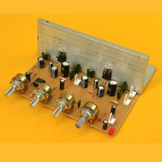Amplificador Estéreo de 20W con control de Volumen y Tonos
