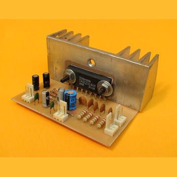 Ensamble un Amplificador de 40W y Fuente Simple