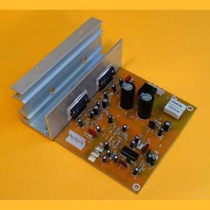 Amplificador de 40W con Control de Tonos y Volumen Controlados por Tensión