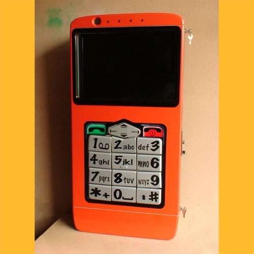 Videorockola en Forma de Teléfono  Celular