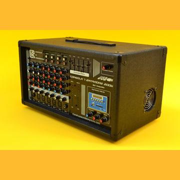 Construya una Consola Activa o Amplificada de 200W