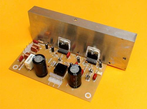 Construya un Amplificador Estereo de 180 Watts