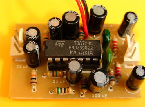 Control de volumen Automático con TDA7284