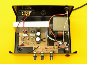 amplificador en su caja