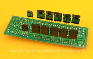 transistores de salidas