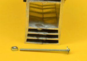 asegurar transistores