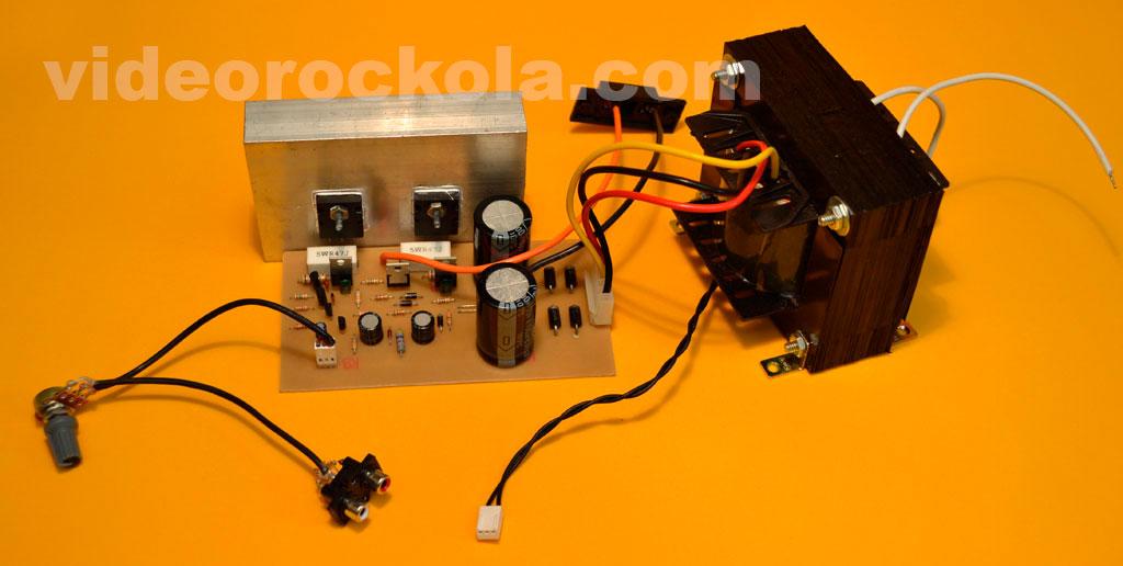 amplificador terminado