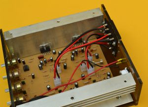 audio output amplifier