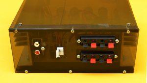 back amplifier