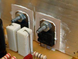 transistores de salida