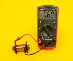 medición bobina
