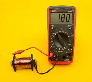 medición bobina woofer